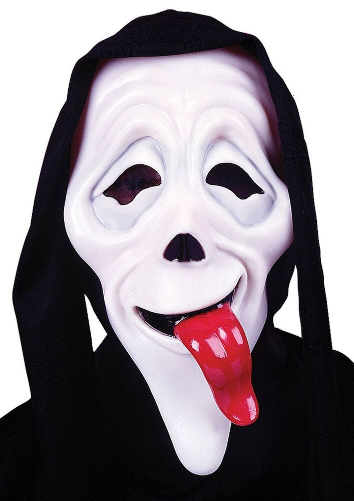 Mens Wassup Scary Movie Mask Film Halloween Scream Fancy