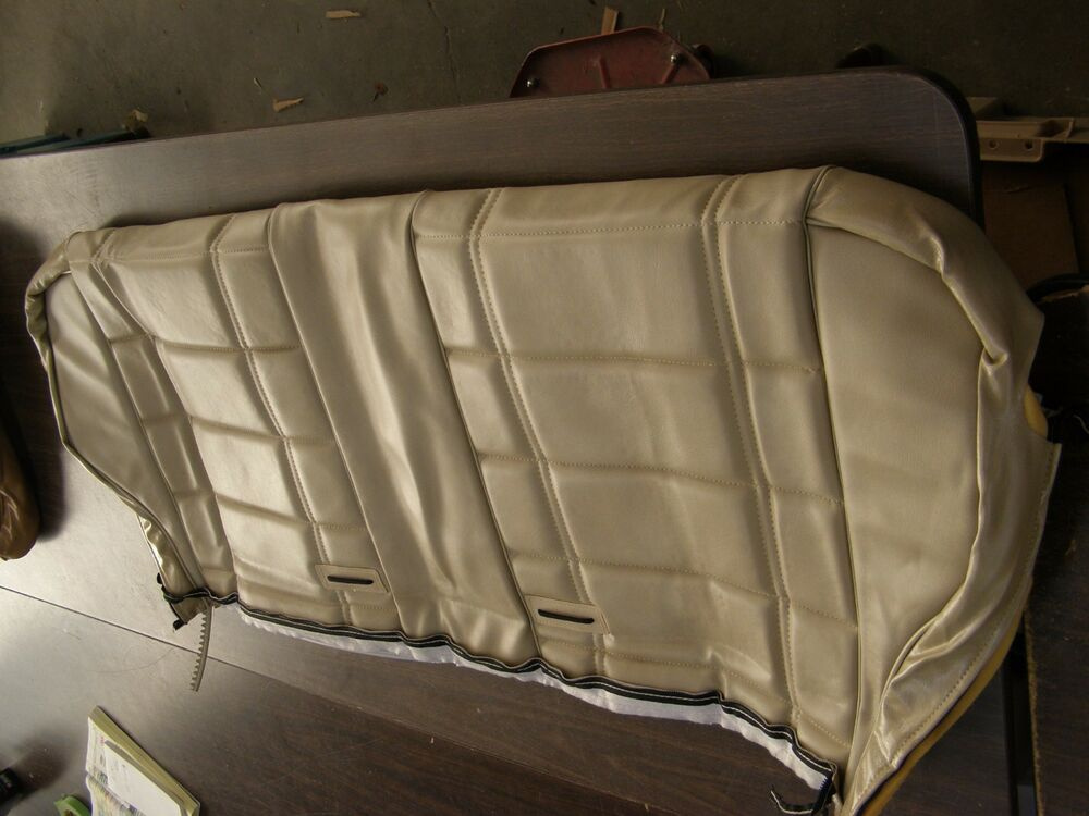Jeep Wrangler Parts And Accessories >> NOS OEM 1984 1985 Jeep Cherokee Rear Seat Cover Back 1986 1987 1988 - Verify - | eBay