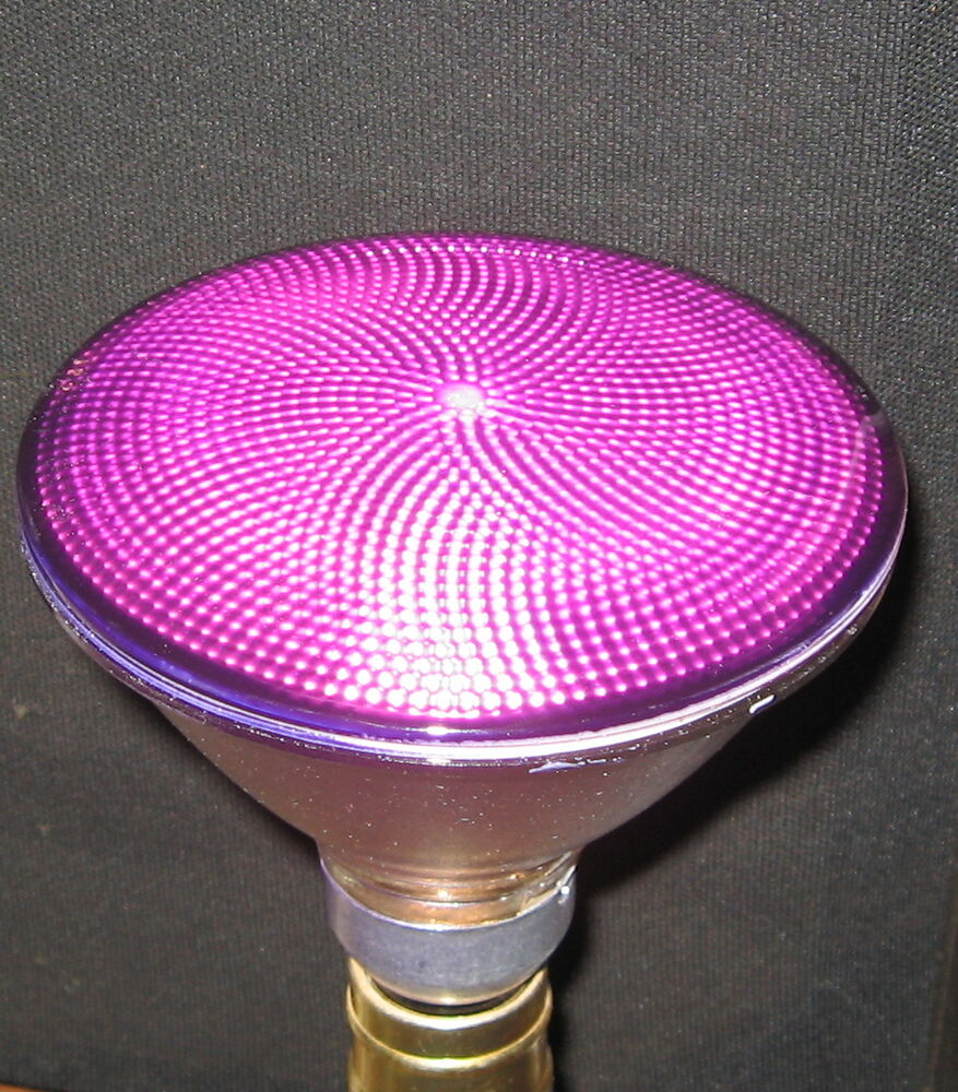NEW GE 90 WATT PAR38 HALOGEN Lite PURPLE 90w Outdoor Flood