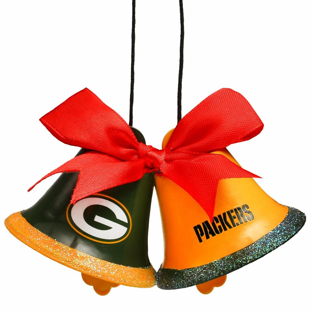 Green bay packers christmas tree holiday ornament new