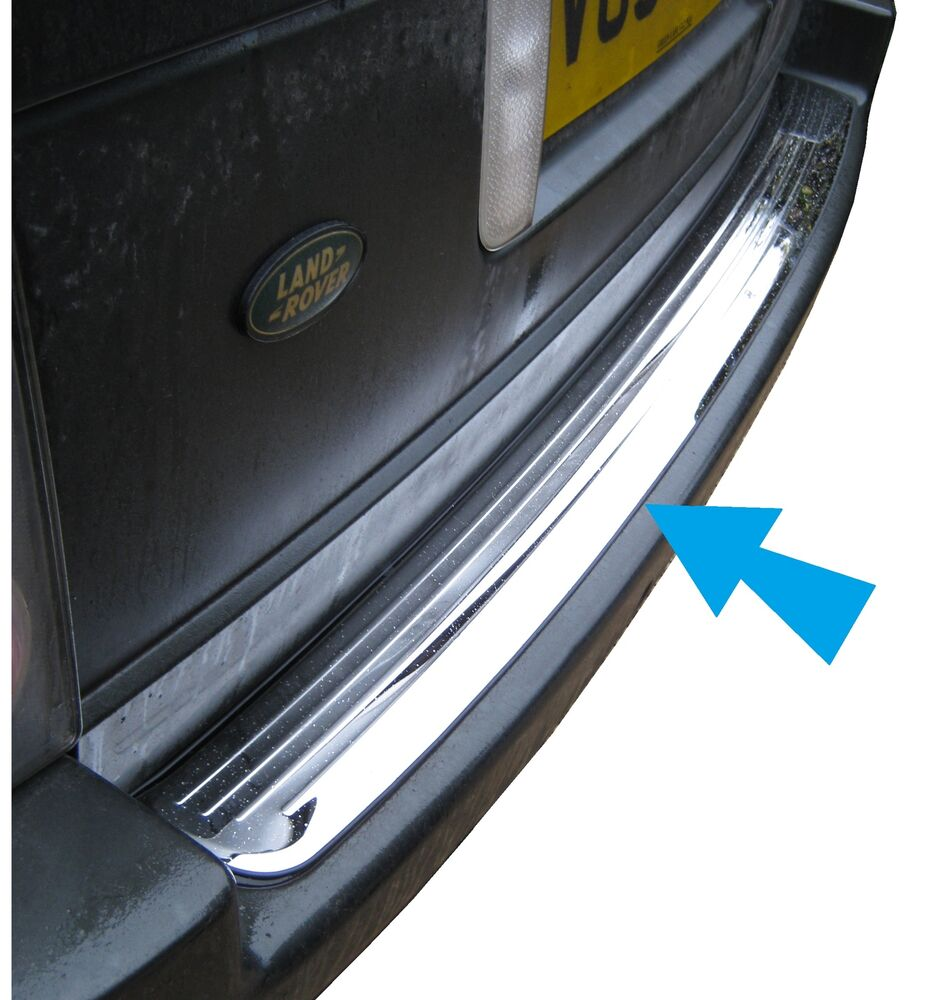 Ebay Co Uk Search: Polished Stainless Steel Rear Bumper Tread Step Plate For