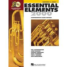 Essential Elements 2000 Baritone TC Book 1 with CD