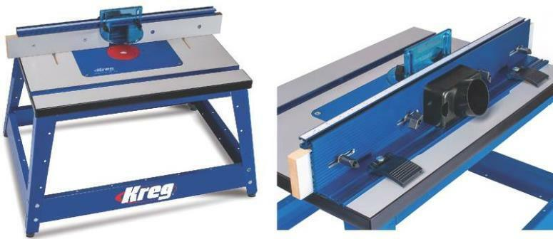 New Kreg Prs2100 Precision Benchtop Routing Router Table