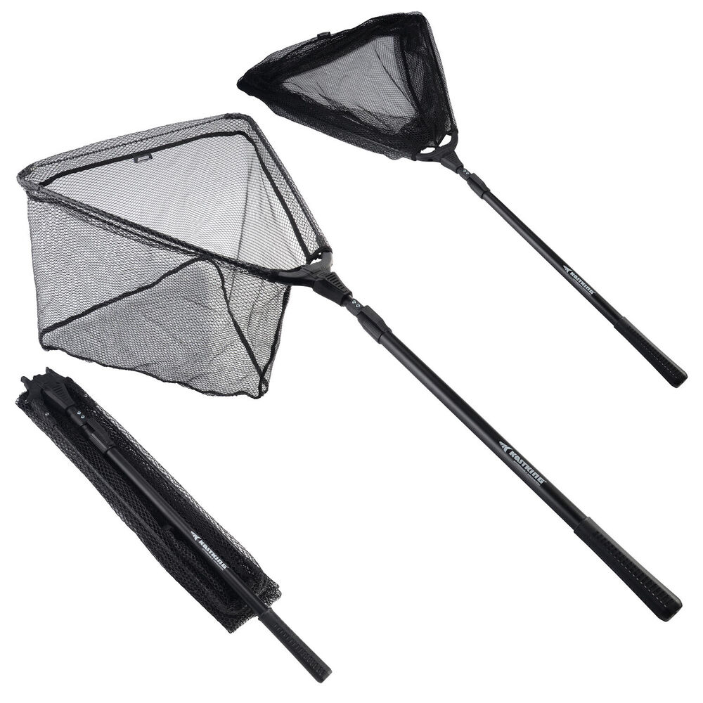 New arrival madbite folding fishing landing net fish net for Hoop net fishing