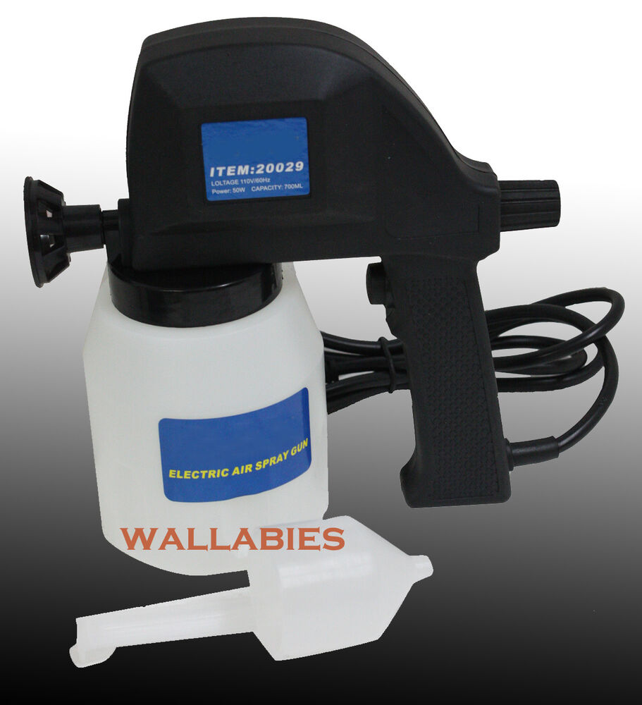 Electric airless air less paint gun sprayer house fence for Air or airless paint sprayer