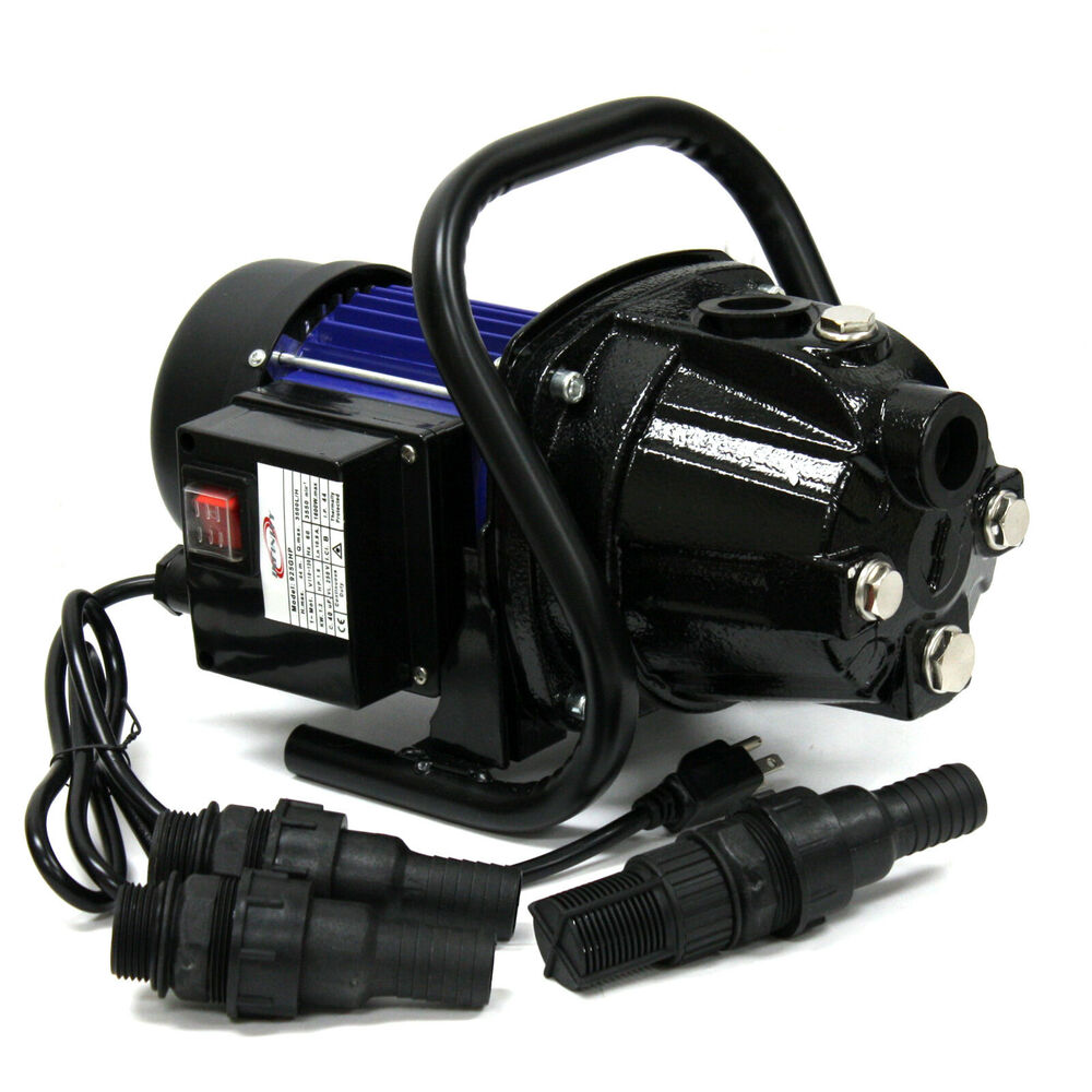 1 5hp 110v 1000gph Stainless Steel Jet Shallow Booster