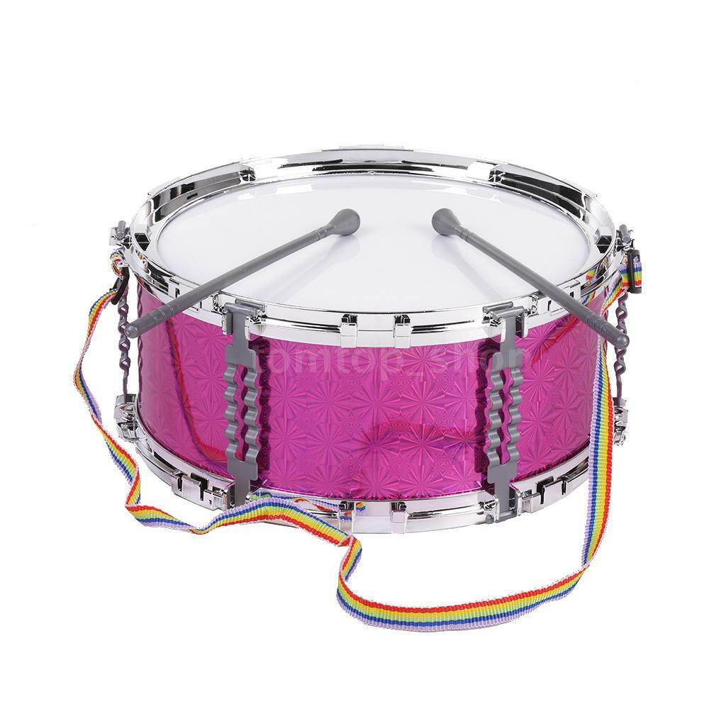 586 110 musical toy jazz snare drum for children kids with strap red q4m6 ebay. Black Bedroom Furniture Sets. Home Design Ideas