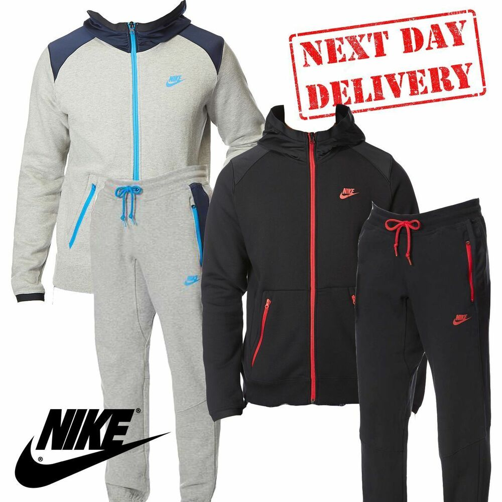 afb7f3f4a509 Details about ✅ 24Hr DELIVERY✅Nike Hybrid Mens Tracksuit Jacket   Trouser  Bottom Pant rrp £90