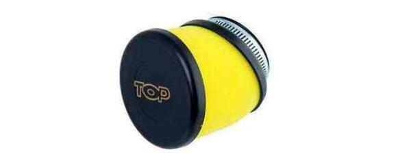 FILTRO ARIA TOP PERFORMANCE RACING SPUGNA GIALLO (IMBOCCO D.49 mm.) SCOOTER MOTO
