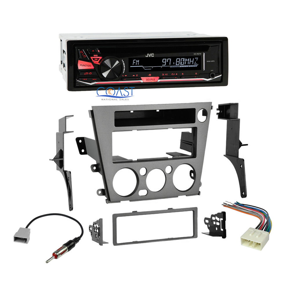 s l1000 jvc car radio stereo dash kit wire harness for 2005 2009 subaru SWHS High School at webbmarketing.co