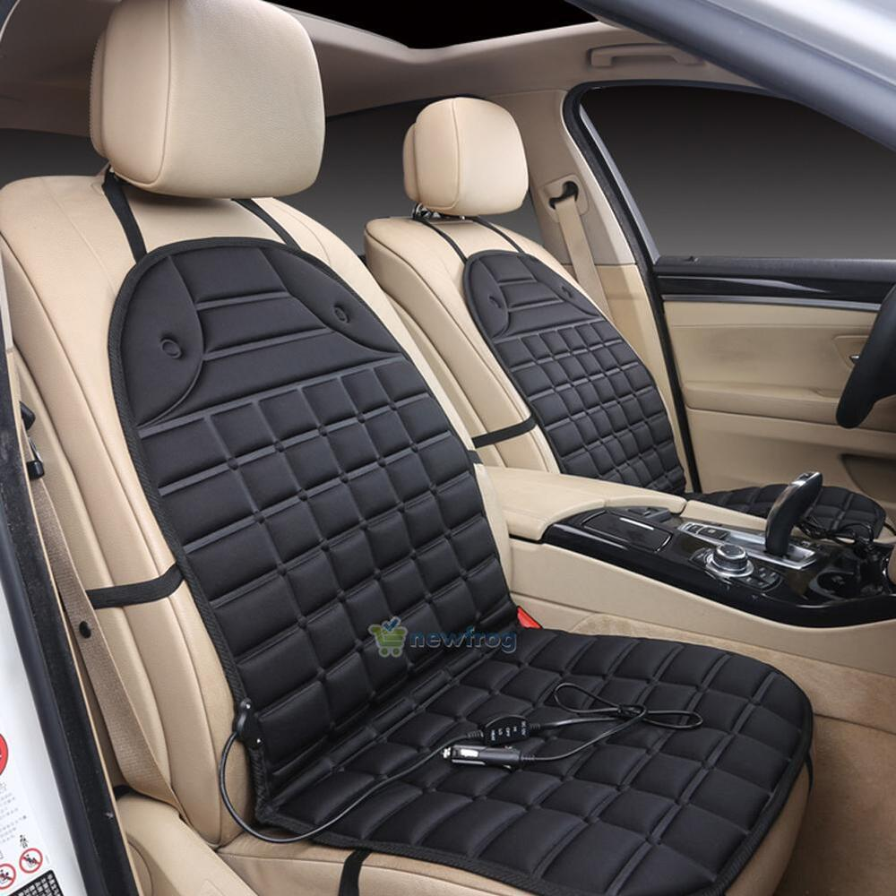 12v thickening heated car seat heater heated cushion warmer cushion cover pad ebay. Black Bedroom Furniture Sets. Home Design Ideas