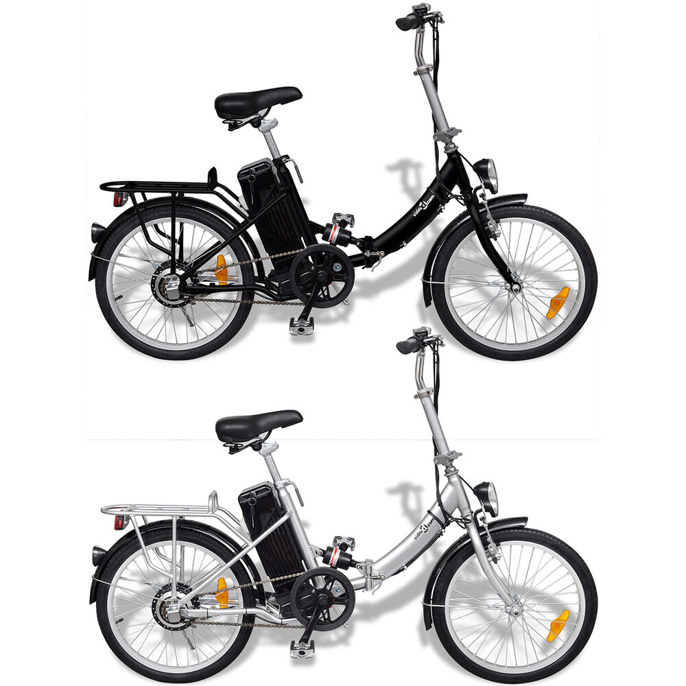 elektro klapprad 20 zoll alu elektrofahrrad ebike e bike pedelec akku fahrrad ebay. Black Bedroom Furniture Sets. Home Design Ideas