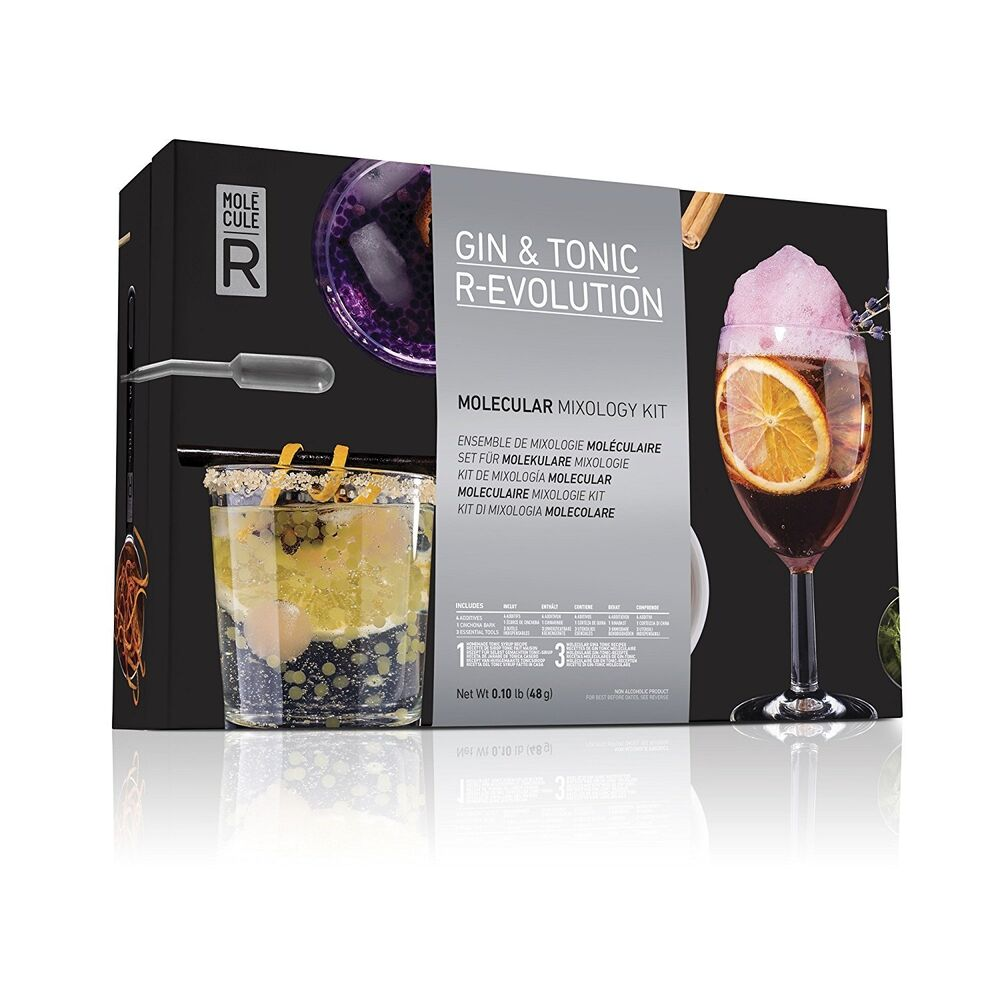 Gin and tonic r evolution molecular gastronomy kit for Per cucinare 94