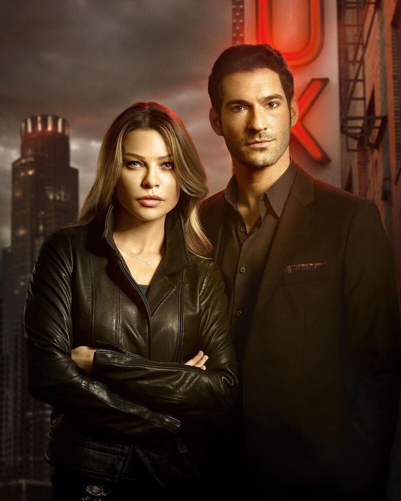 Lucifer Cast 8 X 10 / 8x10 GLOSSY Photo Picture