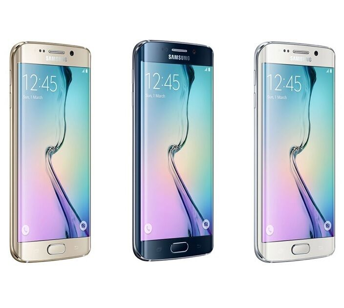 samsung galaxy s6 edge g925v r verizon unlocked smartphone cell phone at t gsm ebay. Black Bedroom Furniture Sets. Home Design Ideas