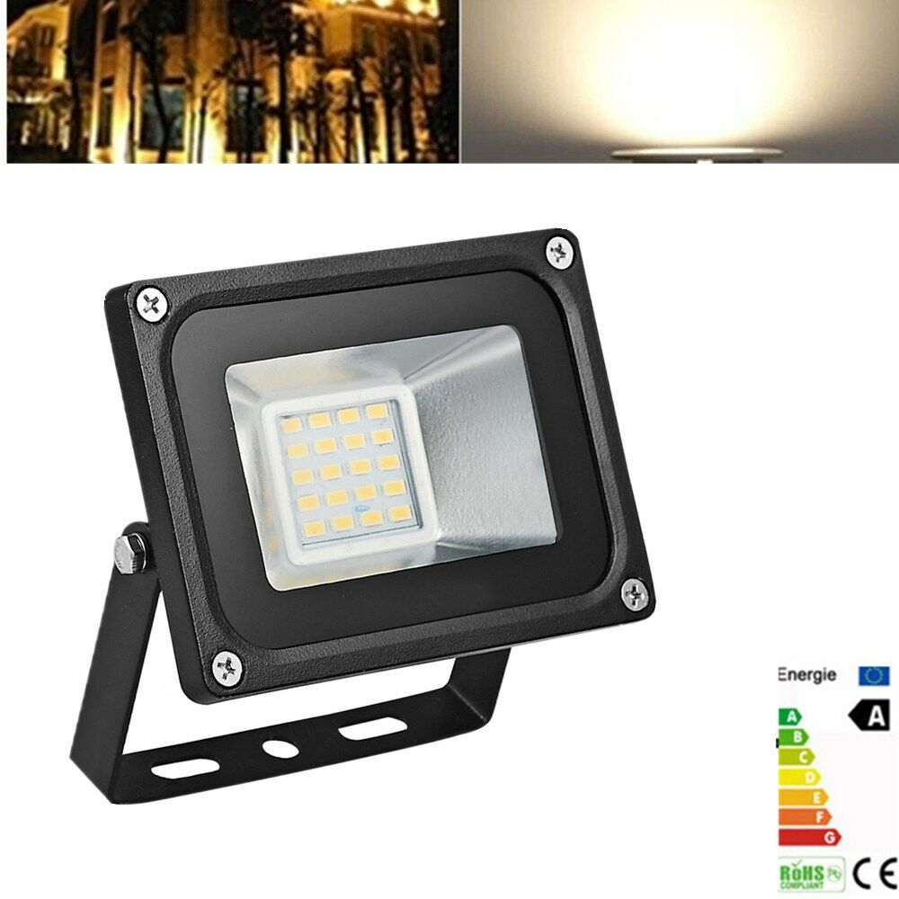 20w flood light led 12v spot light warm white floodlight outdoor garden lamp ebay. Black Bedroom Furniture Sets. Home Design Ideas