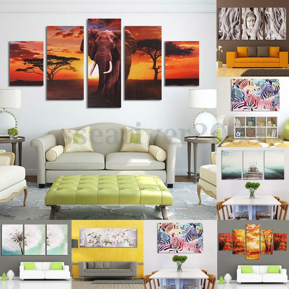 Modern Canvas Wall Art Oil Painting Picture Decorative