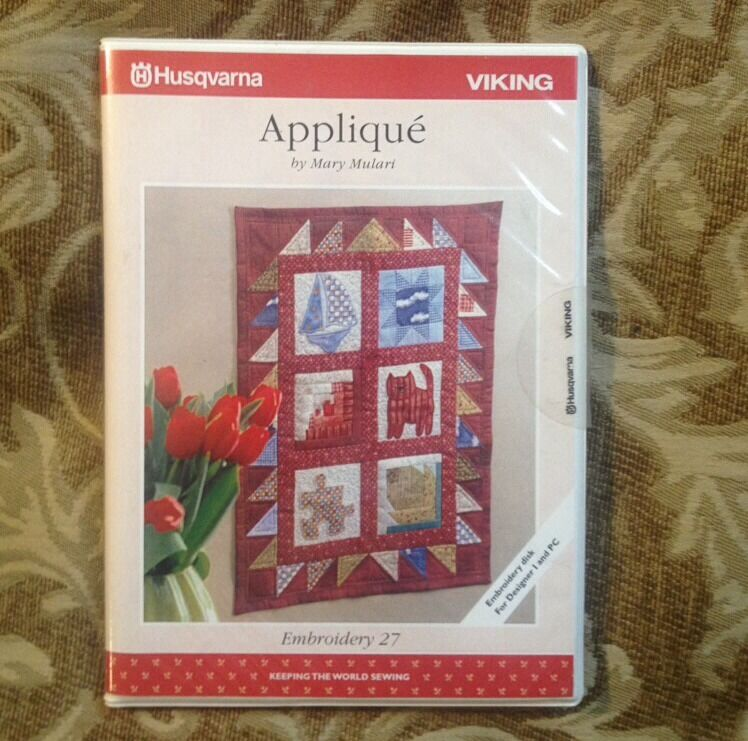 Applique embroidery designs for husqvarna viking