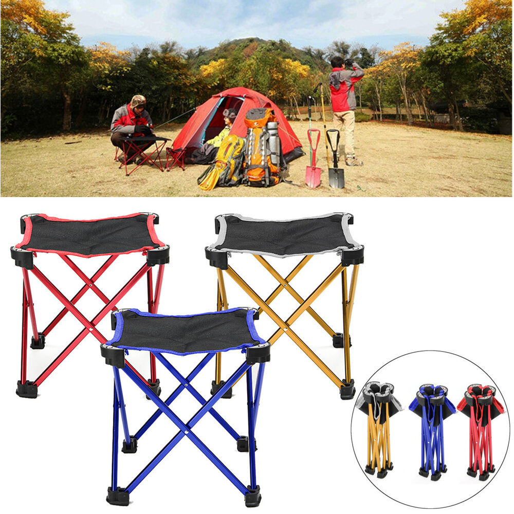 Outdoor Portable Folding Camping Hiking Fishing Picnic Bbq