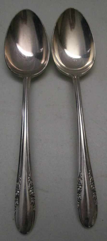 Alvin Fashion Lane 1940 Silver Plate Silverware Set Of 2