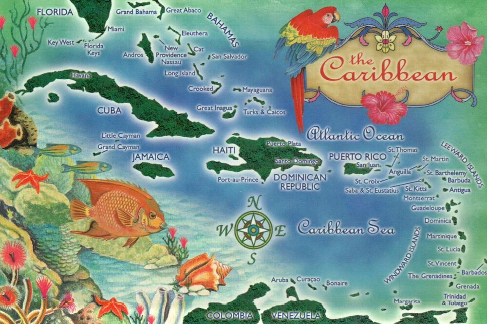 An overview of caribbean islands in haiti