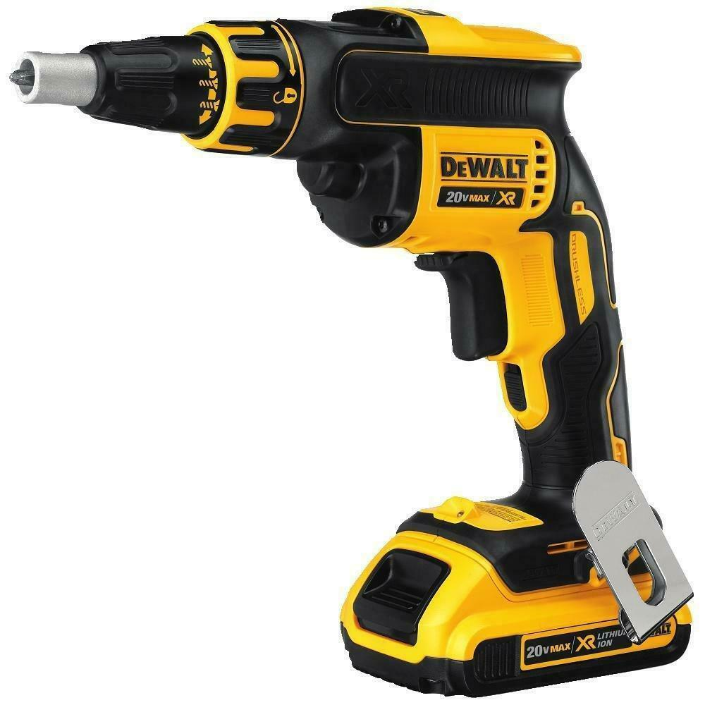 Dewalt dcf620d2 20v max xr li ion brushless drywall for Dewalt 20v brushless motor