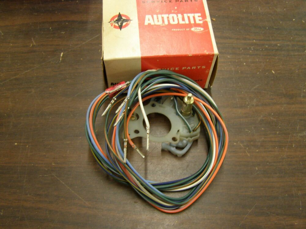 nos oem ford 1965 1969 truck pickup turn signal switch ... 1966 ford f100 blinker switch wiring #6
