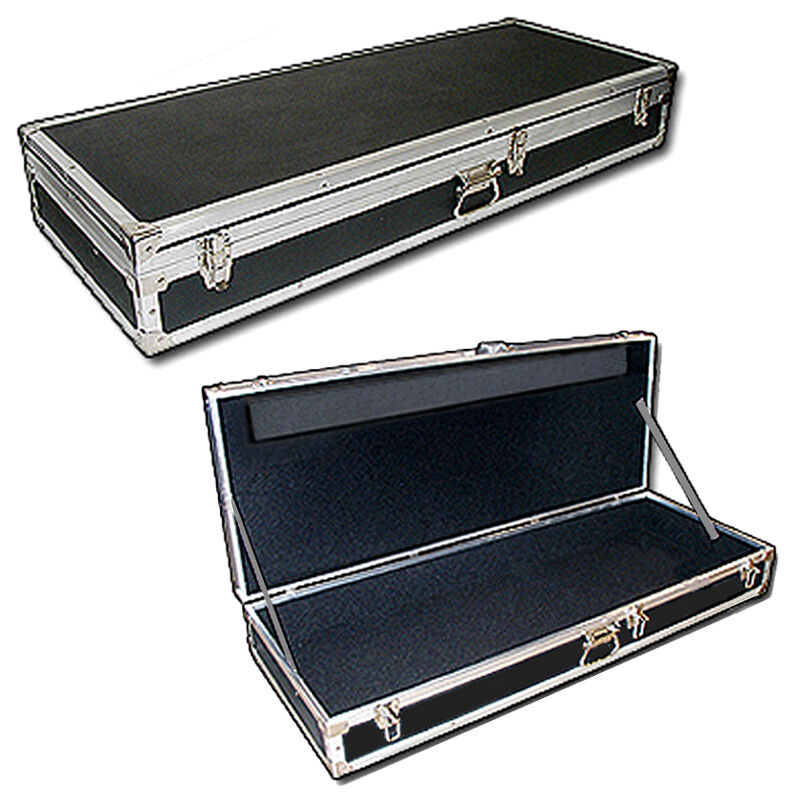 light duty carpet lined ata case for casio privia px100 piano keyboard ebay. Black Bedroom Furniture Sets. Home Design Ideas