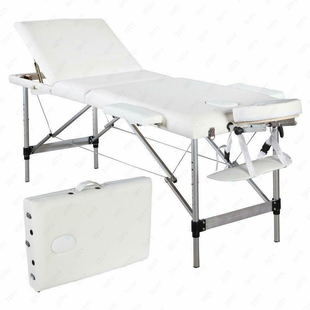 Portable Massage Table Prices Portable Solar Power Station Uk Portable Outdoor Kitchen Uk 4tb Portable Hdd Price In Bangladesh: Portable Aluminum 3 Fold Massage Table Facial SPA Bed