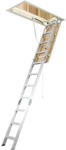 New Werner Ladder Ah2210 375 Pound Rated Aluminum Attic