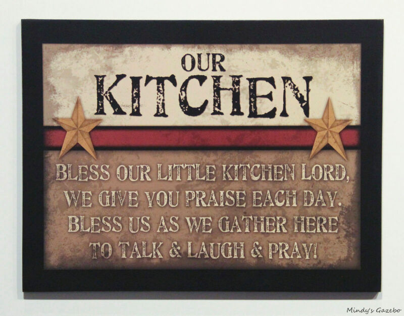 Primitive country wood kitchen sign handmade inspirational - Watch over the garden wall online free ...