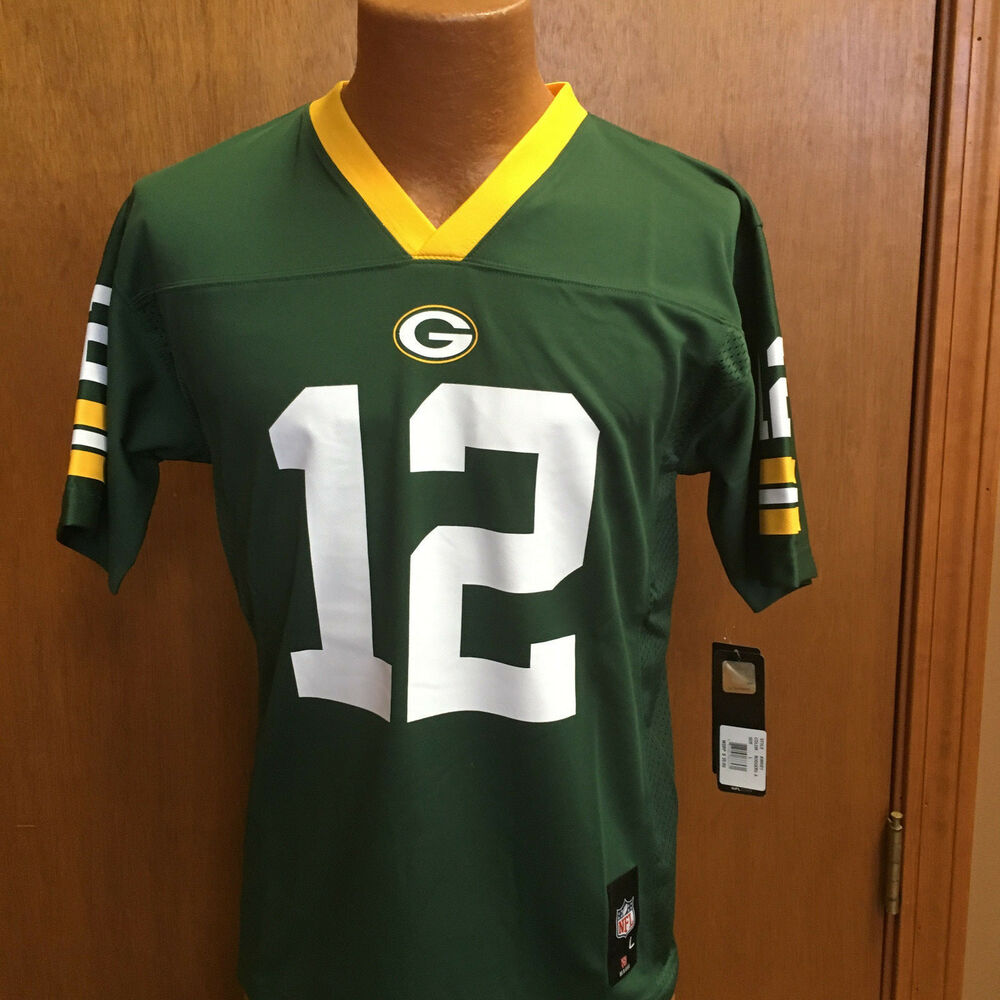 c3f1d70b1 NFL GREEN BAY PACKERS AARON RODGERS YOUTH JERSEY BRAND NEW WITH TAGS ...