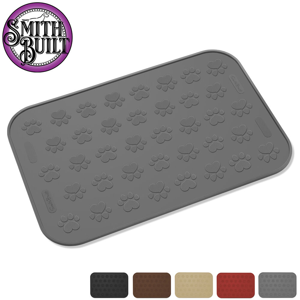 Large Waterproof Pet Food Mat 24 Quot X 16 Quot For Dog Or Cat