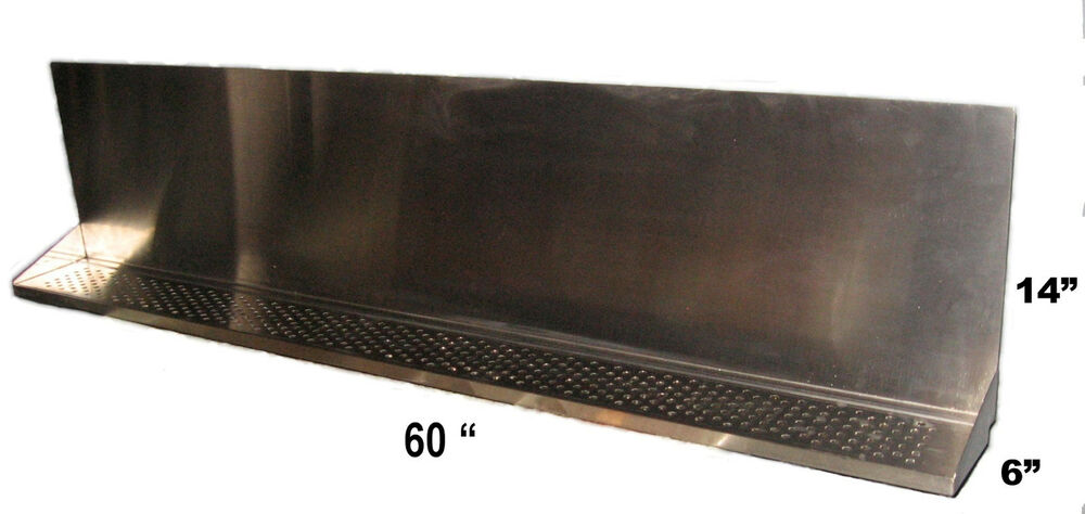 Draft Beer Tower Wall Mt Drip Tray 60 Quot L S S Grill