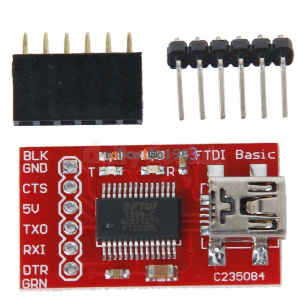 Ft rl ftdi usb to ttl serial adapter module for