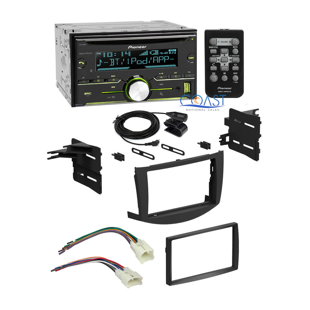 Pioneer Car Radio Stereo 2 DIN Stereo Dash Kit Harness For