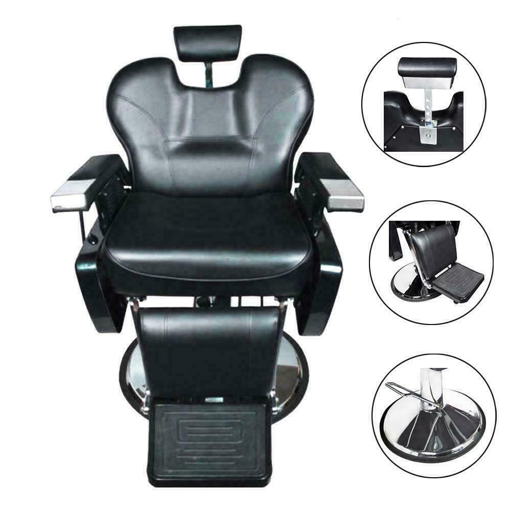 All purpose hydraulic recline barber chairs salon beauty for Accessories for beauty salon