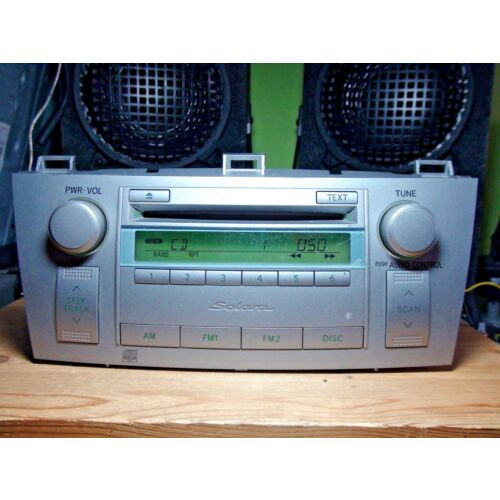 toyota-solara-20042006-cd-player-base-nonejbl-a51806-poor-cond-see-test-video