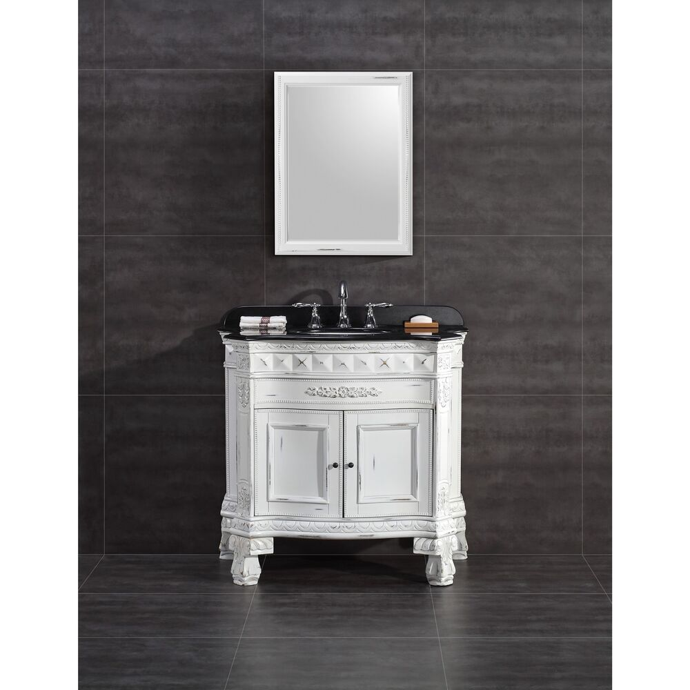 Ove Decors York 36 Inch Single Sink Bathroom Vanity With