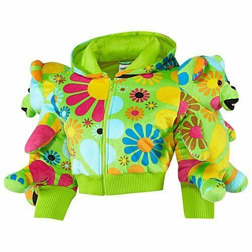 e31053daa25c Details about Adidas Js Jeremy Scott Bear Hoodie Sports Jacket Ladies Size  34-36-38-40 New
