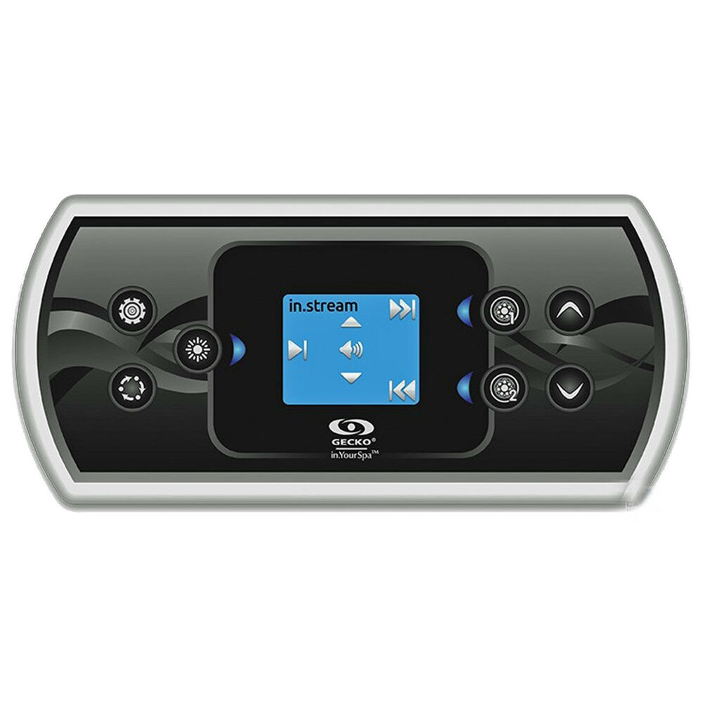 In k500 topside control gecko hot tub spa touch panel pad for Uniform swimming pool spa and hot tub code 2012 edition