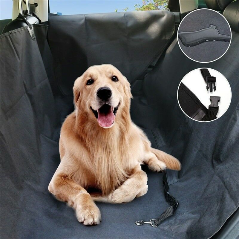 Waterproof Dog Car Seat Cover For Cat Pet SUV Door Van