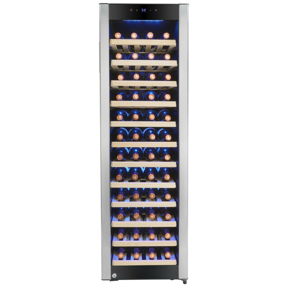 dual zone wine cooler 53 bottle dual zone freestanding electric wine cooler 31169