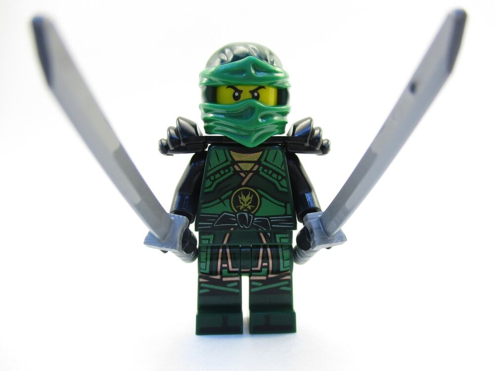 Lego ninjago green lloyd ninja minifigure 70626 hands of time mini fig ebay - Ninja ninjago ...