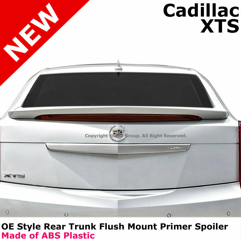 For 2013+ Cadillac XTS 4Dr Flush Mount Primer ABS Rear