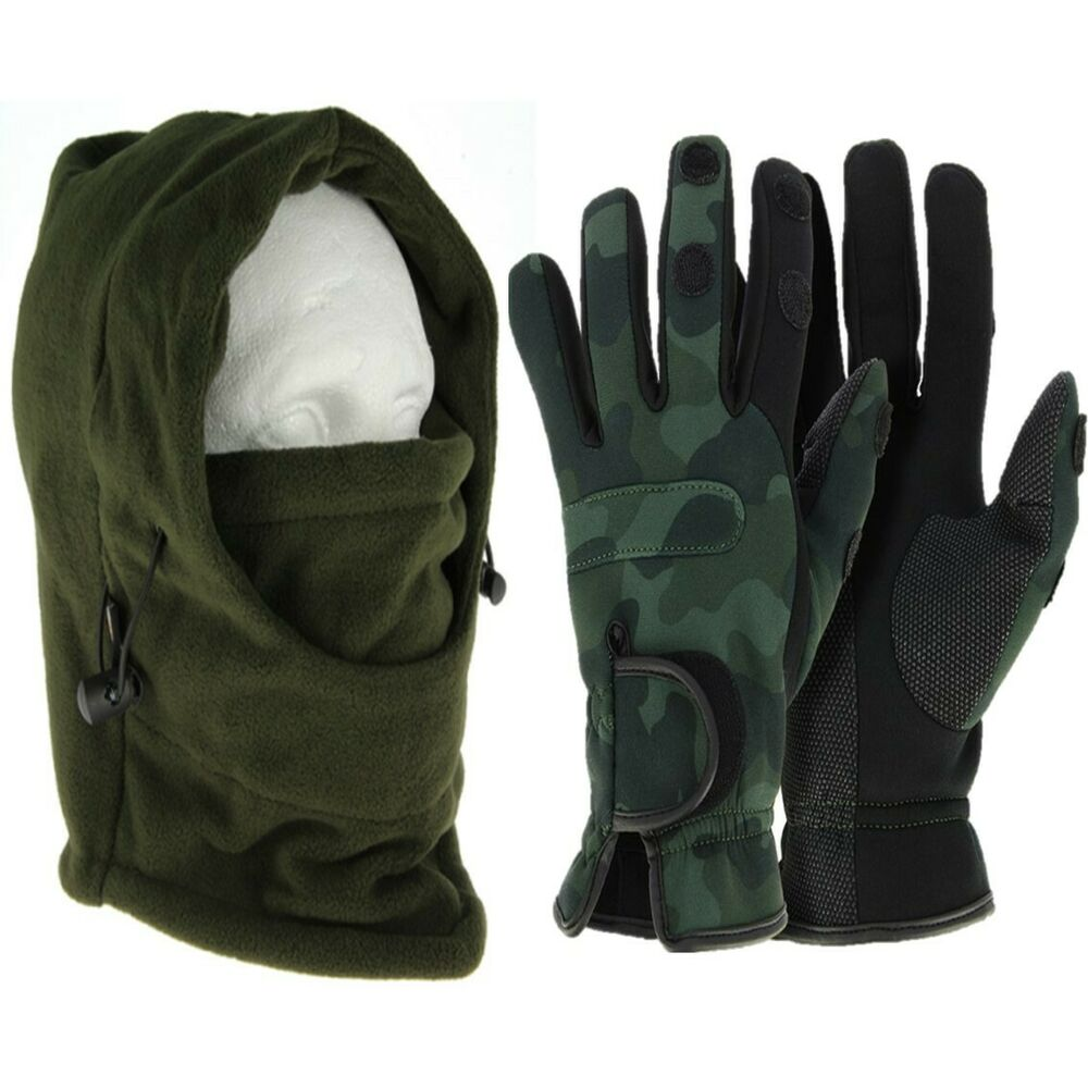 Ngt xl neoprene fishing camo gloves camo shooting for Neoprene fishing gloves