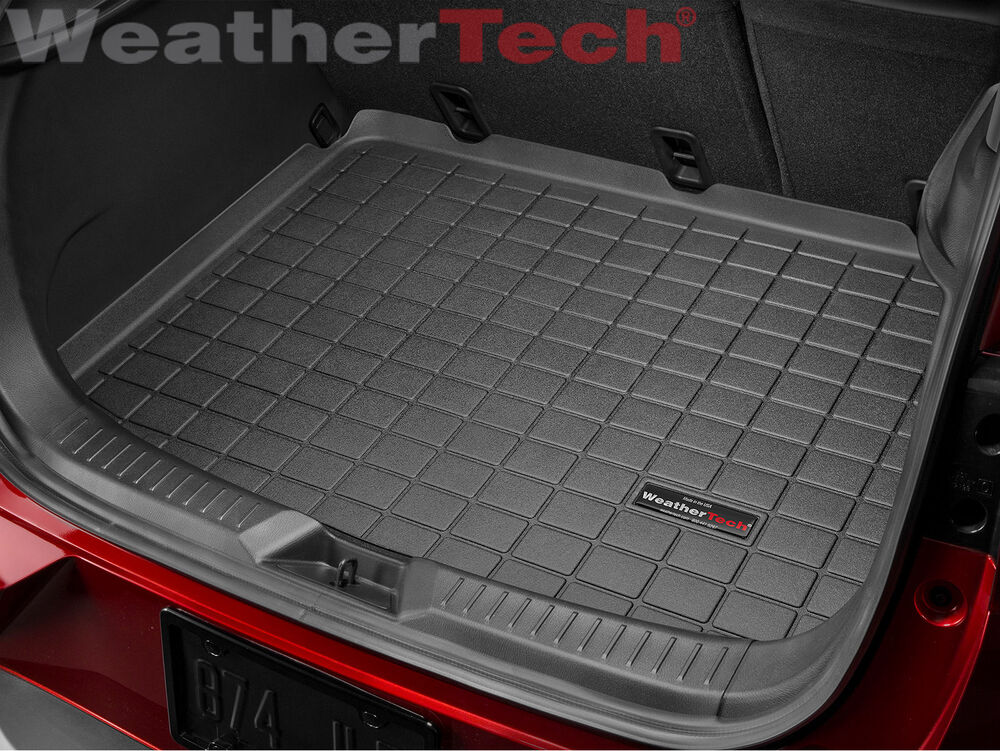 weathertech cargo liner trunk mat for mazda cx 3 2016 2018 black ebay. Black Bedroom Furniture Sets. Home Design Ideas