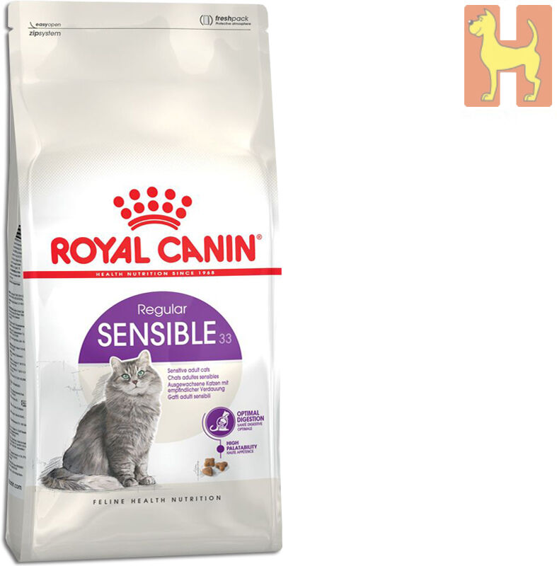 10 kg royal canin sensible 33 katzenfutter f r katzen mit. Black Bedroom Furniture Sets. Home Design Ideas