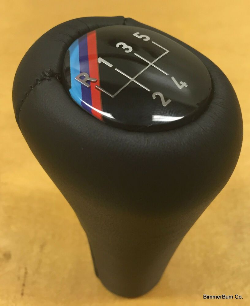 Bmw M Tech Black Leather Shift Knob E30 318i 318is 325