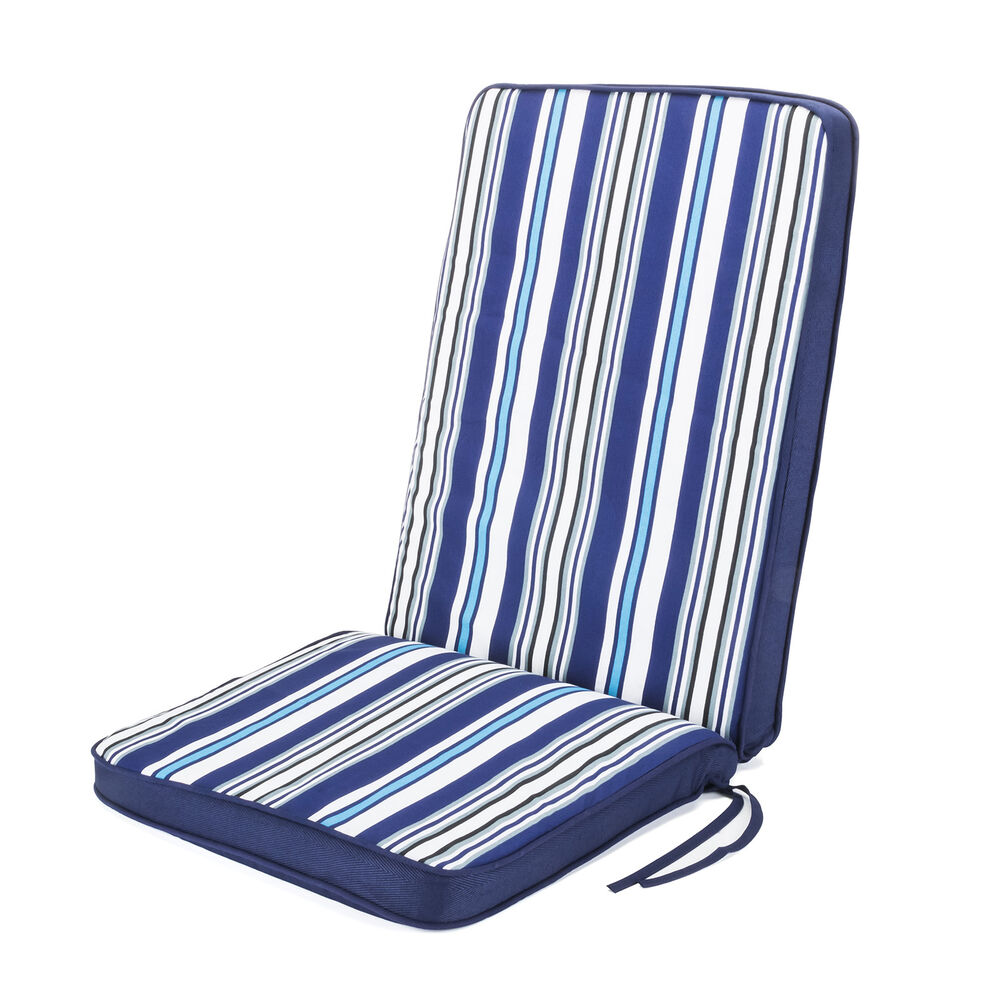 Highback Garden Dining Chair Cushion Navy Outdoor  : s l1000 from www.ebay.co.uk size 1000 x 1000 jpeg 128kB